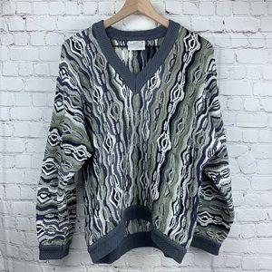 COOGI Australia Vintage Sweater V-neck